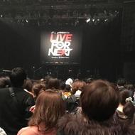 ライブへ行ってまいりました~♪
