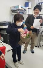 平嶋が退職致しました
